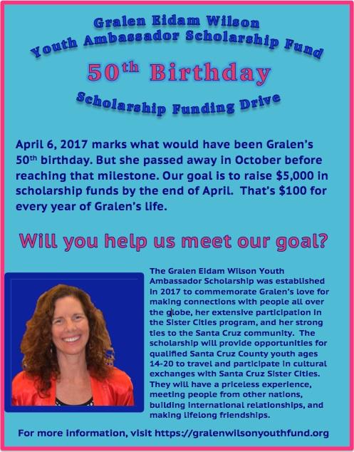 Gralen 50th fundraising drive